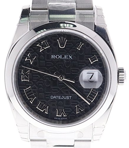 Rolex Datejust swiss-automatic mens Watch 116200-BKRO (Certified Pre-owned)