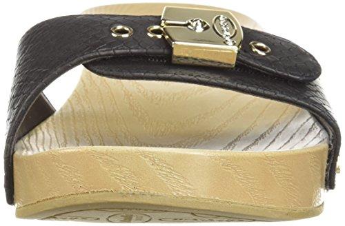 Obtener en línea Barato 2018 Nuevo Dr. Dr. Scholl's Shoes Women's Classic Slide Sandal Black Snake Print Zapatos De Estampado De Serpiente Negro Clásico De La Sandalia De Diapositivas De Las Mujeres Del Scholl Orden de salida Clearance Footlocker i2MssN