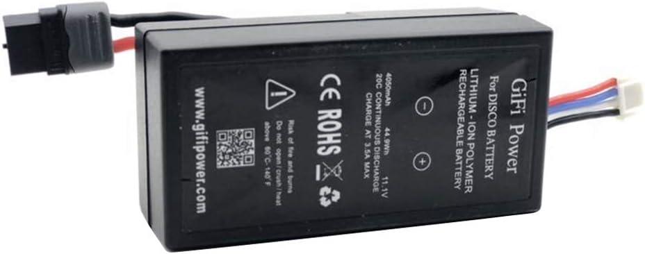 XuBa Batterie LiPo 11.1V 4050mAh pour Parrot Disco