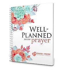 Well Planned Prayer, July 2017 - June 2018