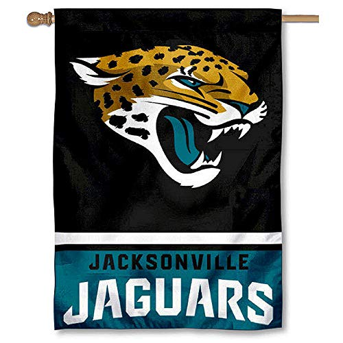 WinCraft Jacksonville Jaguars Two Sided House Flag