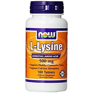 L Lysine 500mg 100 Capsules (Pack of 2)