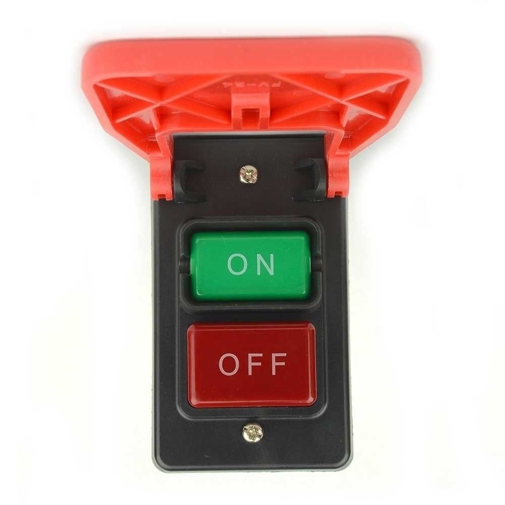 superbobi-Emergency Shutoff Stop 110/220 Volt Paddle On/Off Switch. Table Saw Band Safety