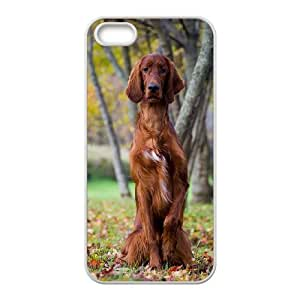 New Fashion Durable Hard Phone Case Cover for Iphone 5,5S Case Cover - Animals Dog HX-MI-997687