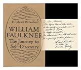 William Faulkner, H. Edward Richardson, 0826200788