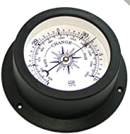 Trintec Nautical Marine Vector Collection Aneroid Barometer (White Dial) VEC-W-04 Indicator