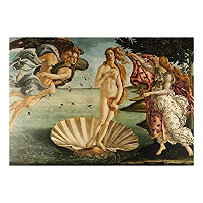 Alluring Artistry, Made For You, The Birth of Venus by Sandro Botticelli Early Italian Renaissance Florentine School Peel and Stick Large Wall Mural Removable Wallpaper