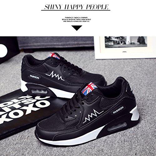 Padgene Sneaker Ladies Noir Pour De Air Max Fille uk3 Chaussure Femme Trainers Course Chaussures rrqznF1U