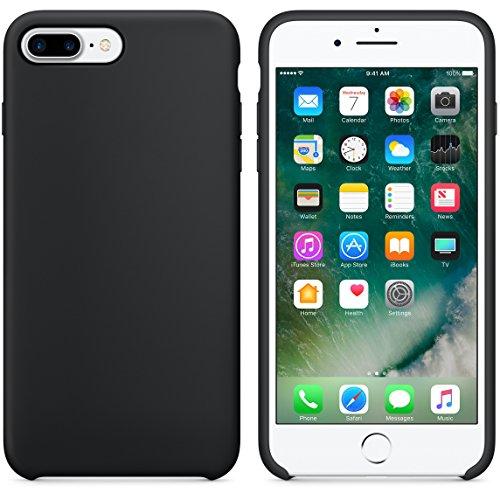 46a7c039756be iPhone 7 Hülle und iPhone 7 Plus Schutzhülle Starke Hybrid Soft Silikon  Schutzhülle stoßfest TPU Gummi Case für Apple iPhone 7 und Apple iPhone 7  Plus Von ...