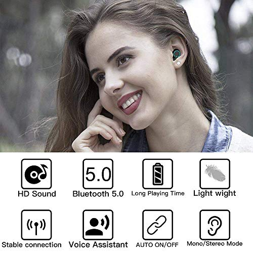 Earphones & Headphones Bluetooth Earphones & Headphones Flight Tracker 3d Stereo Bluetooth V5.0 Earphone Tws Wireless Earbud Charge Case For Lg X Power 2 3 Xpression Plus Elegant In Smell