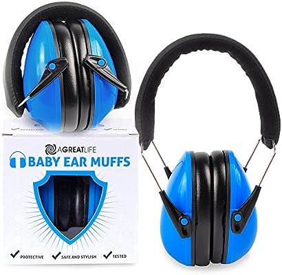 Amazon.com: Más segura bebé orejeras con auriculares nominal ...