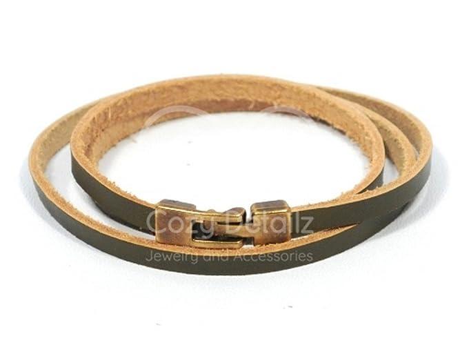 4fa360332 Image Unavailable. Image not available for. Colour  triple wrap bracelet