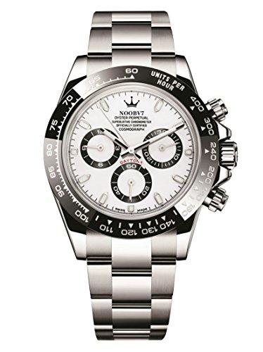 - Luxury Swiss Cosmos Ultimate Daytona Chronograph High End Watch Black Bezel Automatic 4130 Movement 116500LN-78590