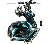 XUEXIN Continental American country creative personality deer ornaments the ashtray retro