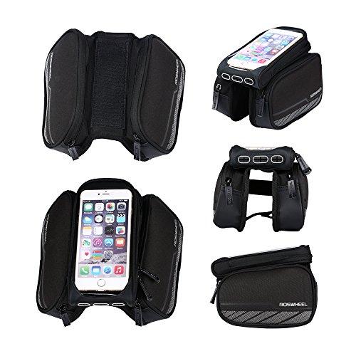 Roswheel Waterproof Road Bicycle Smartphone Bag for Bike Accesorios