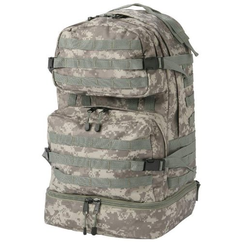 ExtremePak Digital Water-Repellent Backpack, Camo by ExtremePak