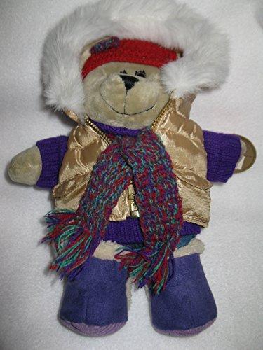 2006 Holiday Teddy - Starbucks 2006 Bearista Bear