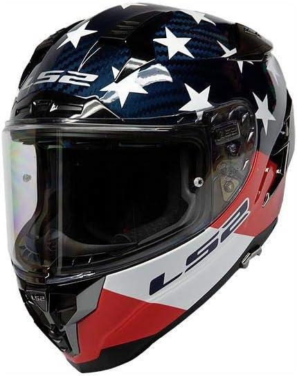 Fusion Matte Titanium//Blue - Large LS2 Helmets Challenger GT Full Face Street Helmet