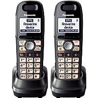 Panasonic KX-TGA659T Expansion Handset 1.9GHz DECT 6.0 Technology For Cordless Telephone (2- pack)