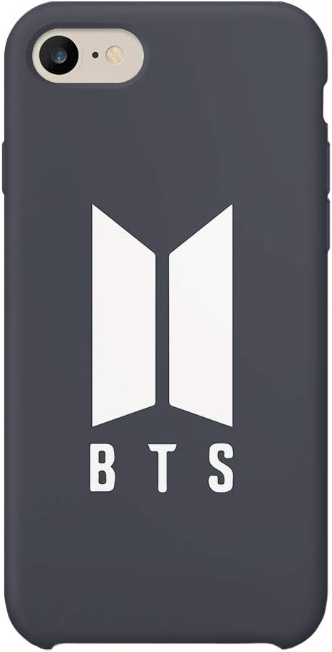 BTS Rap Music Legend Logo_MA1025 Case For iPhone 6 Plus Protective Phone Case Carcasa De Telefono Estuche Protector Compatible with iPhone 6/6s Plus
