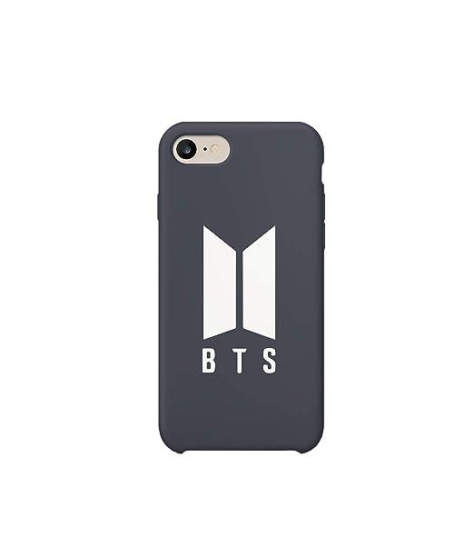 BTS Rap Music Legend Logo_MA1025 Case For iPhone 7 Plus, Protective Phone Case Carcasa De Telefono Estuche Protector Compatible with iPhone 7/7s Plus