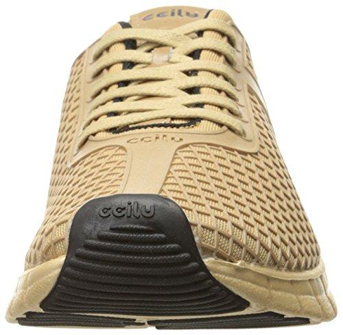 Ccilu Mens Cinch Mode Sneaker Guld