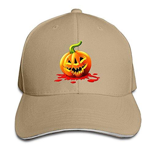 Fonsisi Creative Halloween Pumpkin Love Casual Design Unisex Cotton Sandwich Peaked Cap Adjustable Baseball Caps Hats -