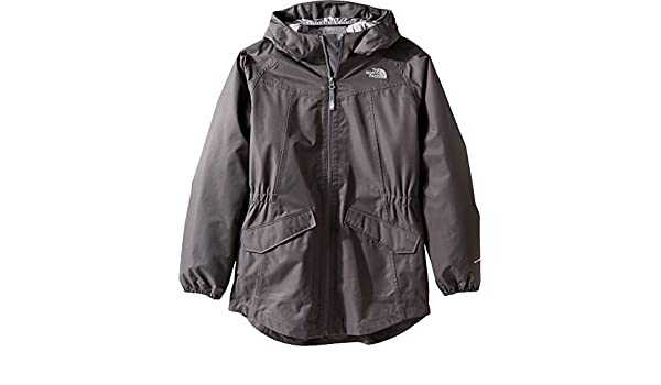 14654170f The North Face Girls' Sophie Rain Parka Graphite Grey M: Amazon.ca ...