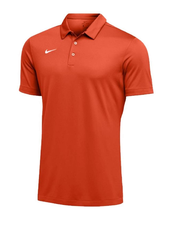 Nike Mens Dri-FIT Short Sleeve Polo Shirt (XX-Large, Orange) by Nike