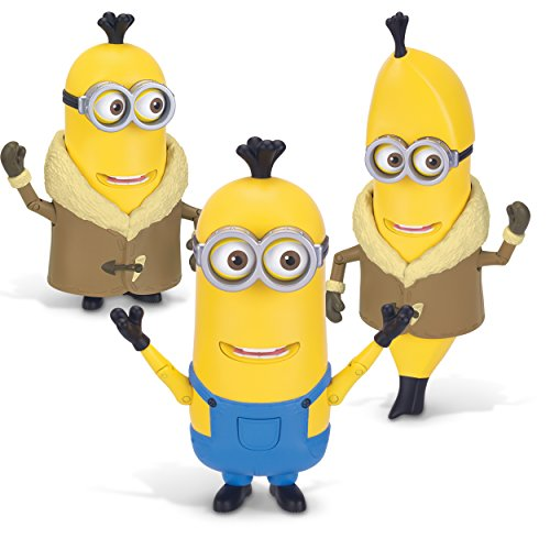 Minions Deluxe Action Figure - Build-A-Minion Arctic Kevin/Banana -
