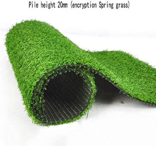XEWNEG 高さ20mmの人工芝、暗号化された合成カーペットマット、屋外ガーデン、イベント会場装飾された合成芝生2x1m (Size : 2x8M)