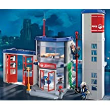 Playmobil 4819 Rescue Set Fire Station