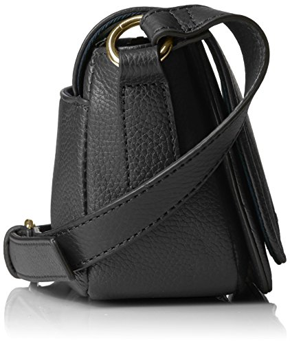 Crossbody Claire Hilfiger Tommy Black Leather pvOq88Aw