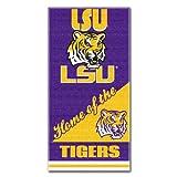 The Northwest Company NCAA LSU Tigers Home Beach Towel, 28 x 58-Inch