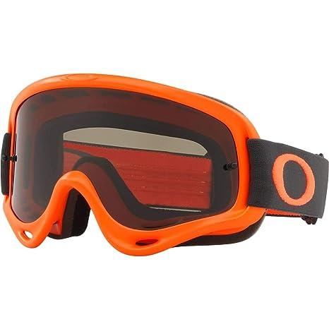 923a0a3f33 Amazon.com  Oakley O Frame MX Adult Off-Road Motorcycle Goggles - Orange  Gunmetal Dark Grey  Automotive