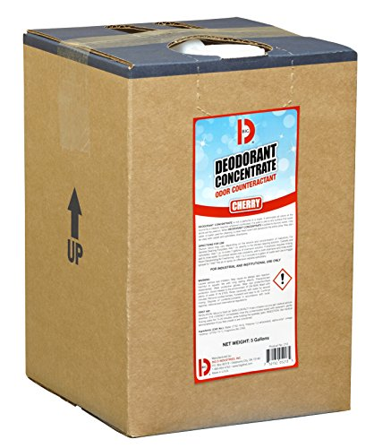 Big D 5213 Deodorant Concentrate, Cherry Fragrance, 5 Gallon Pail - Add to any cleaning solution - Ideal for use in hotels, food service, health care, schools and institutions