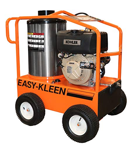 (Easy-Kleen Professional 4000 PSI (Diesel - Hot Water) Pressure Washer w/ Kohler Engine & Electric Start (12V Burner))