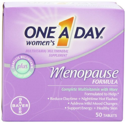 Womens Menopause Formula (One-A-Day Women's Menopause Formula Multivitamin, 50-tablet Bottle (Pack of 3) by One-A-Day)