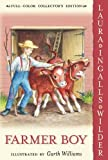 Front cover for the book Farmer Boy by Laura Ingalls Wilder