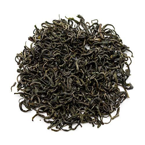 Oriarm 100g / 3.53oz Qingdao Laoshan Green Tea Loose Leaf - Chinese Cloud and Mist Tea Leaves - Green Tea Breakfast - Powerful Antioxidants Brew Hot or Iced Tea