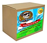 Fiona Smiles All-Natural Grain-Free Gluten-Free Dog Treats - Premium 5 lb. Box of Dog Snacks - Healthy Oven-Baked Variety Pack - Beef Cheddar, Turkey and Peanut Butter Flavors Larger Image
