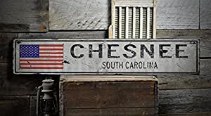 CHESNEE SOUTH CAROLINA Rustic Hand Made