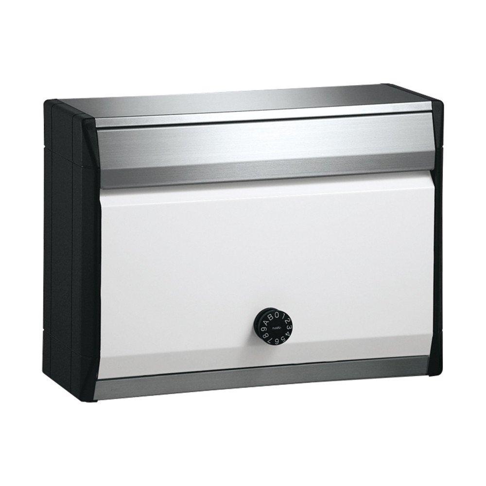 ナスタ(NASTA) 戸建集合郵便受箱(防滴型)ピュアホワイト KS-MB34S-L-PW B0095BQ0EU 13484
