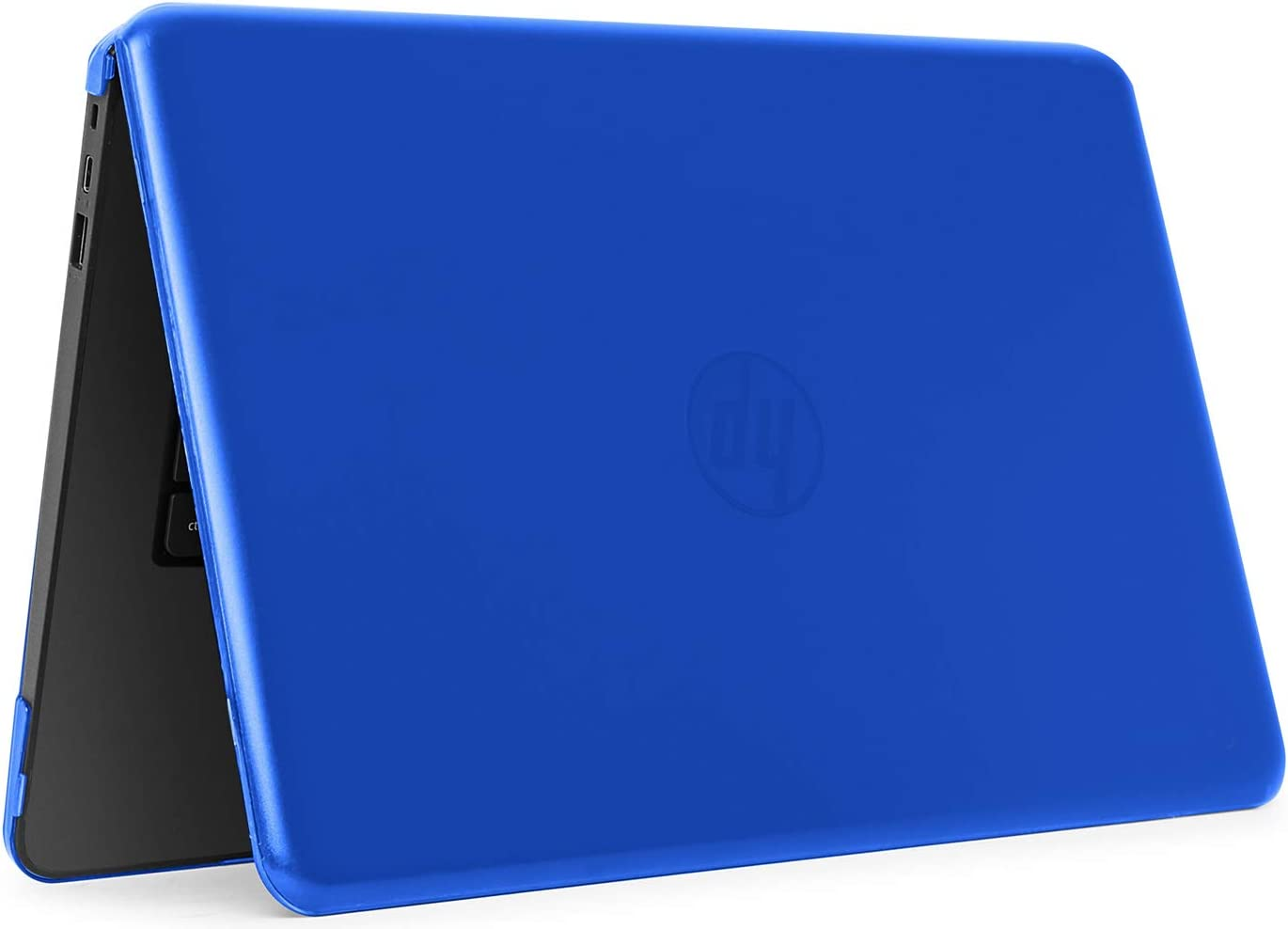 """mCover iPearl Hard Shell Case for 14"""" HP Stream 14-AX000 14-CBxxx Series (NOT Compatible with HP Stream 14 Zxxx and HP Chromebook 14 G1/G2/G3/G4 Series) Windows laptops (HP S14-AX) (Blue)"""