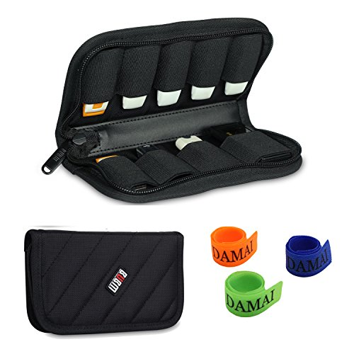 BUBM Black 9 x USB Flash Drives Carrying Case With Handy Quality Padded Protection for Usb Sticks and Memory Cards