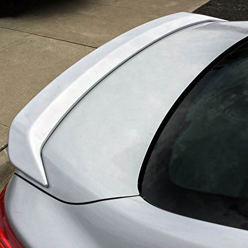 Dawn Enterprises ALT16-FM Lighted Factory Style Flush Mount Spoiler Compatible with Nissan Altima - Pearl White -