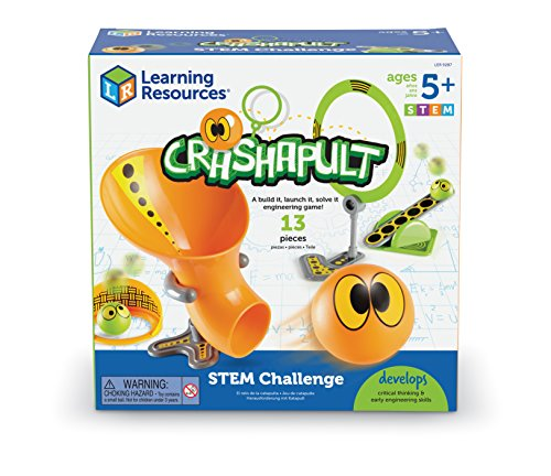 Learning Resources Crashapult Stem Challenge  13 Pieces
