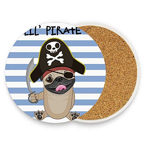 Buccaneer Dog in Cartoon Style Costume Lil Pirate