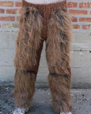 Zagone Studios Hairy Beast Legs Costume Bottoms - Brown
