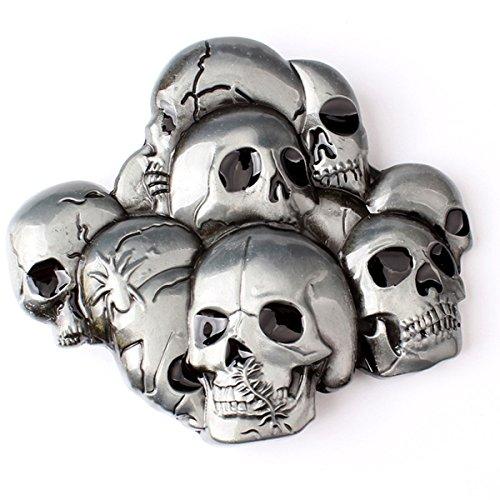 Skull Buckle Metal - 4